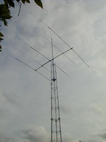 Mon antenne TH5DX
