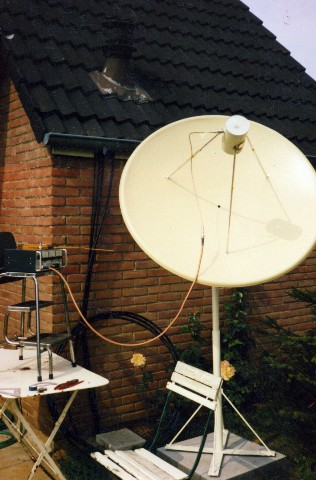Oldtimer pages Antenne Télescope Antenne pages montage