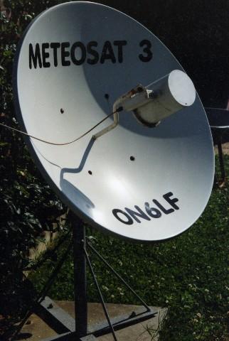 Première réception de Meteosat 3